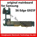 S6 Edge G925F placa base original de 32 GB 3 GB RAM verdadero octa-core cpu placa base para samsung smart phone working lógica junta