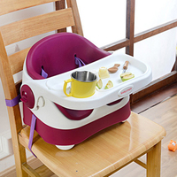High Quality Portable And Foldable Baby's Chair Infant Multifunction Chairs For Kids Toddlers' Feeding Seat With Soft PU Cushion