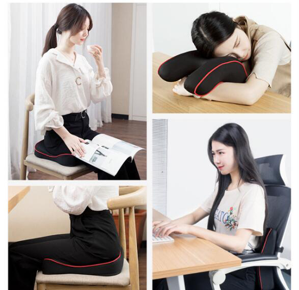 Quality Car Seat Cushion and Back Support Pillow Set Memory Foam Fit Body Curve Relieve Seat Quality Car Seat Cushion and Back Support Pillow Set Memory Foam Fit Body Curve Relieve Seat Pressure Correct Posture