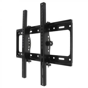 Image 2 - 50KG מתכוונן טלוויזיה וול הר Bracket טלוויזיה שטוח מסגרת 15 מעלות הטיה עם רמת עבור 26   52 אינץ LCD LED צג שטוח פאן
