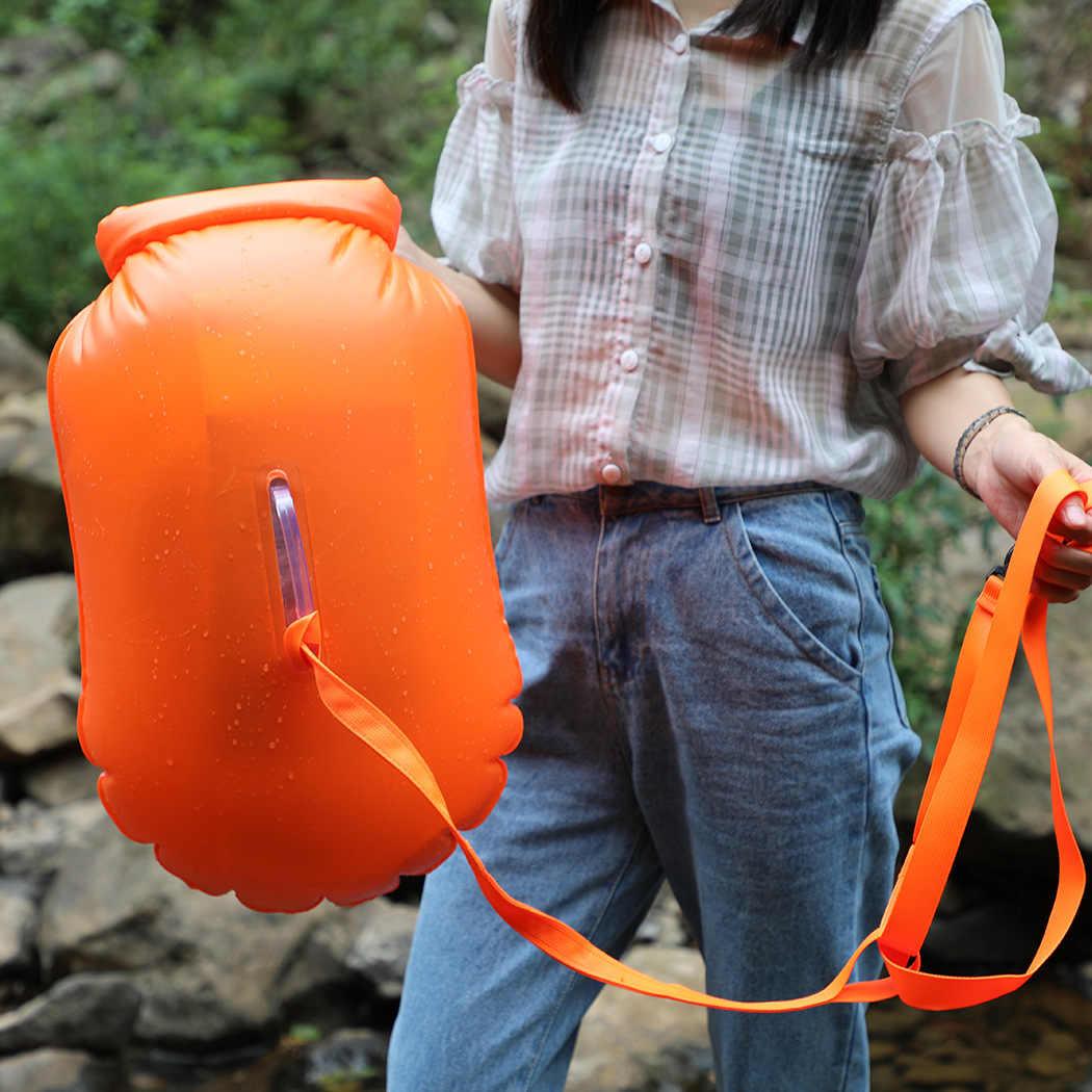 折りたたみ 20L 屋外防水バッグドライバッグインフレータブル水泳バッグ収納浮選ブイラフティングカヤック川トレッキングバッグ