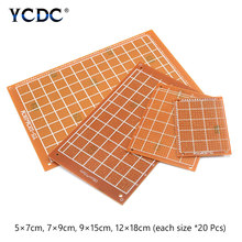 Prototype PCB Printed Circuit Board For DIY Electronic Test 4 Sizes Mix 80Pcs(China)