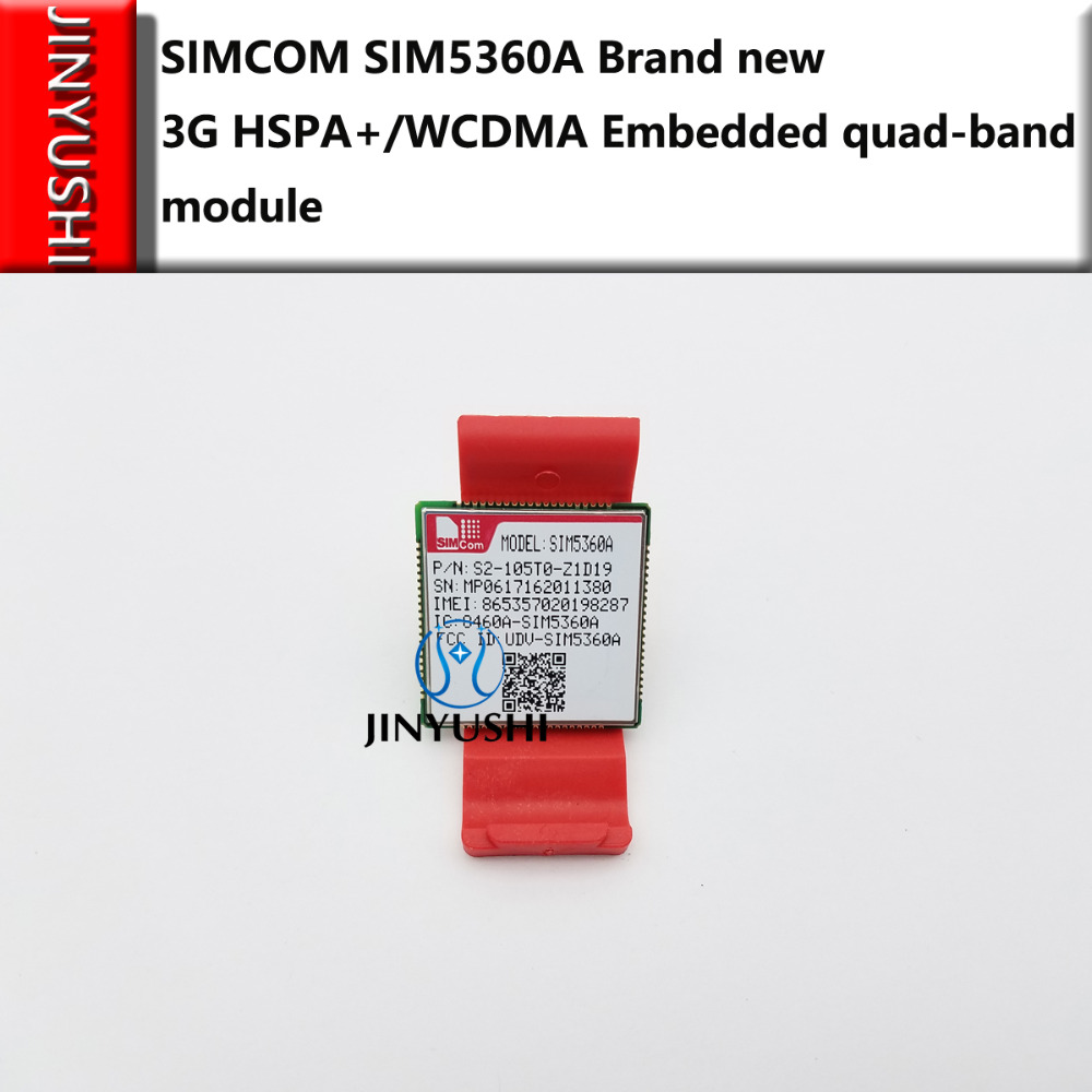 SIMCOM 10PCS/LOT SIM5360A LCC 3G 100% New&Original Genuine Distributor In  Stock  HSPA+/WCDMA  Embedded Quad-band Module