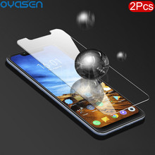 2Pcs/Lot Anti Blue Light Tempered Glass For Xiaomi Pocophone F1 Poco F1 Explosion-proof Screen Protector Film For Xiaomi Poco F1