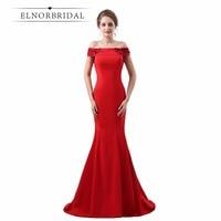Ever Pretty Red Evening Dresses Mermaid 2018 Vestido De Noche Off The Shoulder Prom Dress Women