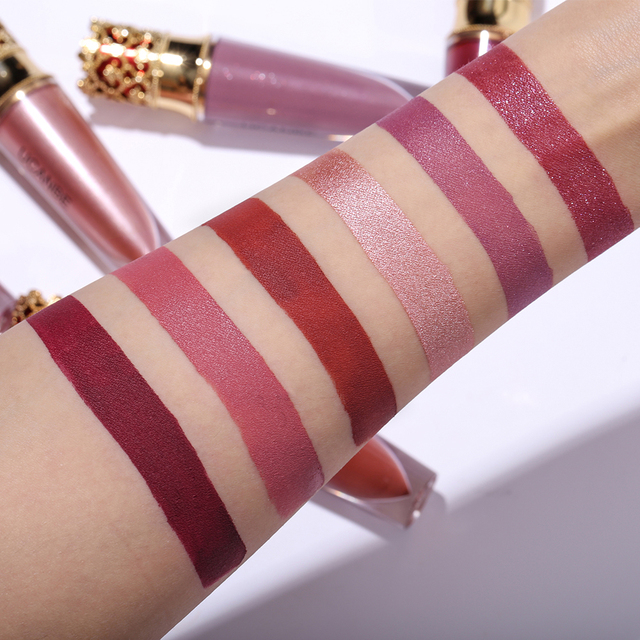 Metallic Velvet Liquid Lipstick