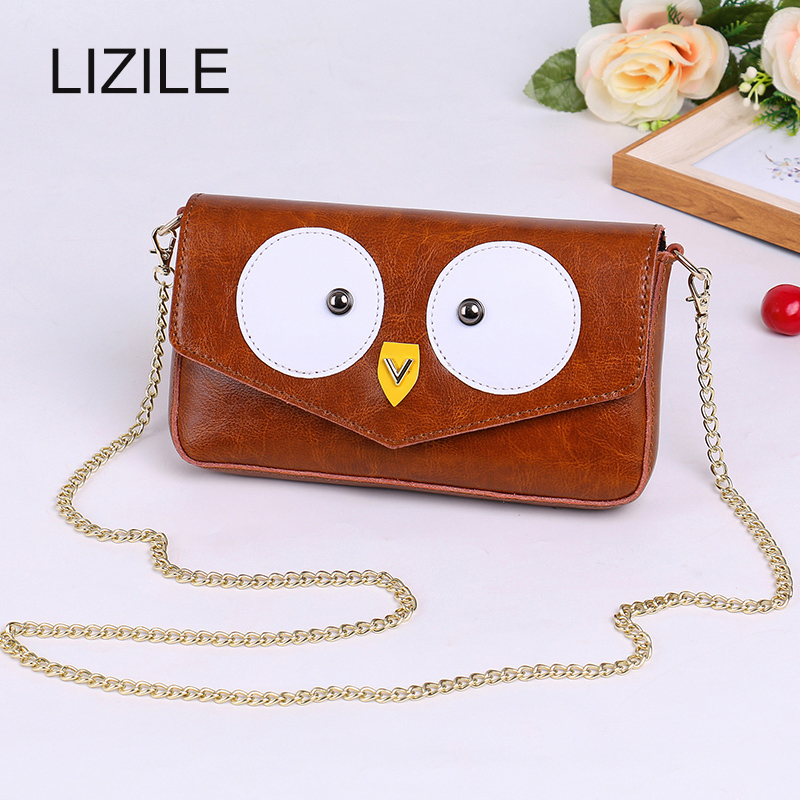 2017 Cartoon package Cute Purse Handbag Owl Women Messenger Bags For Shoulder Bag with Belt Strap Lady Clutch Purses Phone 23full silicone vinyl reborn baby doll toys play house reborn girl boy babies kids child brithday christmas gift girls brinqued