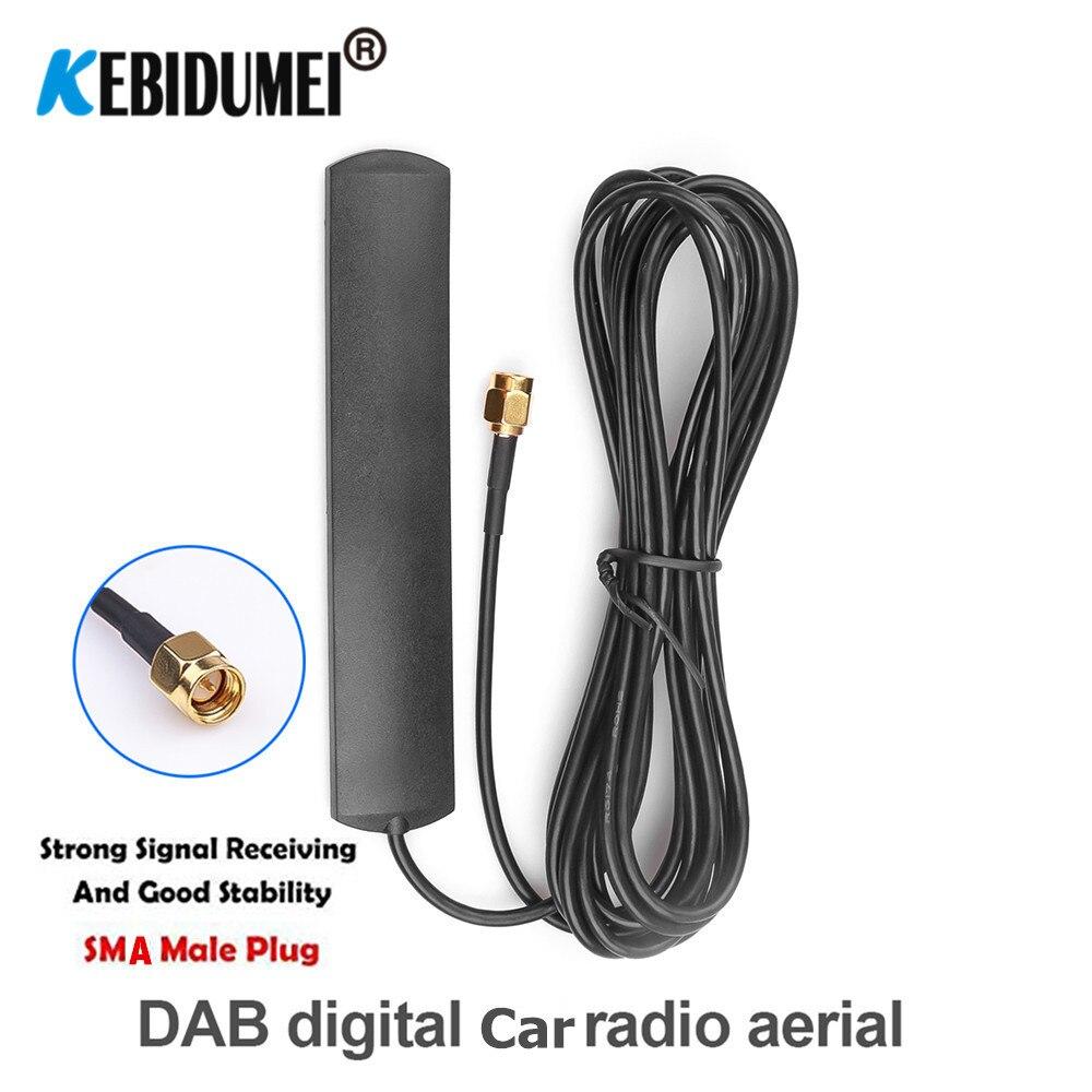 Aerial Accessory Wireless Lead SMB Cable Splitter Car Radio