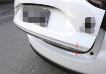 Yimaautotrims Rear Trunk Tailgate Door Tail Bottom Lid Streamer Frame Covet Trim Exterior Fit For Mazda CX-5 CX5 2017 - 2020