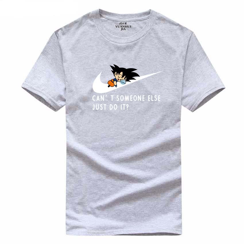 2017 Νέο γράμμα T Shirt Μπλουζάκια Mens dragonball - Ανδρικός ρουχισμός - Φωτογραφία 1