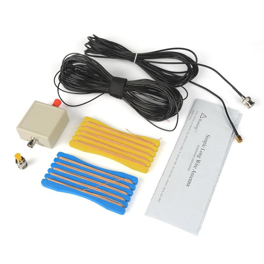 LW1650 Lange Draht 1,6-50 mhz HF Antenne für RTL-SDR USB Tuner Receiver + Stecker
