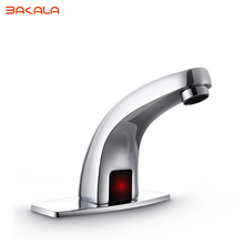 Automatic sensor tap infrared Sensor water saving Faucets Inductive Kitchen bathroom cold water tap or cold and hot mixer tap