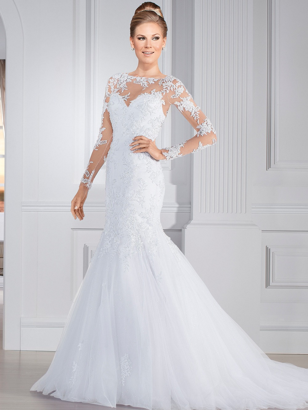 Aliexpress.com : Buy vestido de noiva 2015 Elegant Wedding