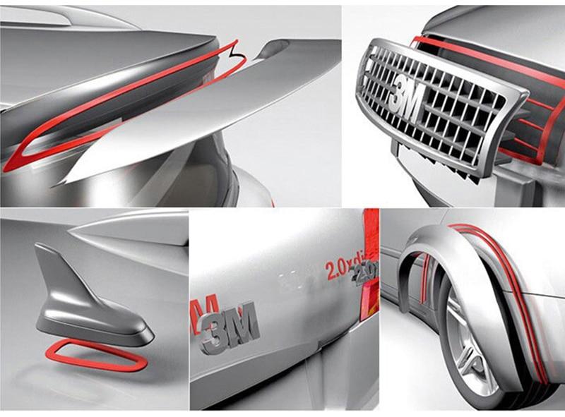 3 м 4229P Авто двухсторонний клейкий пенный акриловый скотч 10 мм* 33 м* 0,8 мм толщина/серый цвет/5 рулонов/Лот
