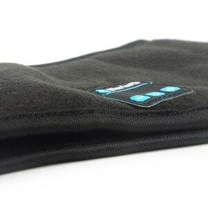Image 4 - JINSERTA Auriculares deportivos, inalámbricos por Bluetooth, para correr, música, diadema, máscara para dormir, manos libres, altavoces y micrófono incorporados