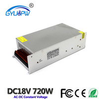 DC 220V To 18V 40A 720 Switching power supply LED screen Constant voltage power supply LED light Drive power transformer