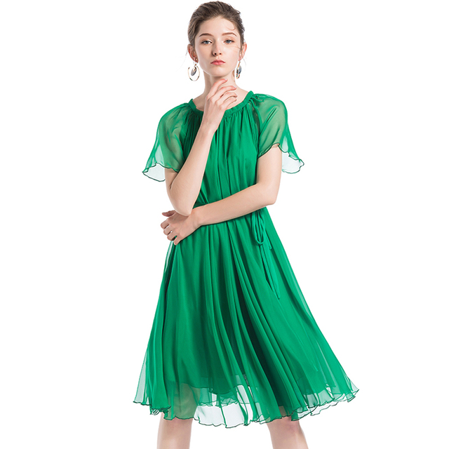 2018 Lightweight Flowy Bridesmaid plus size celebrity/graduation ...