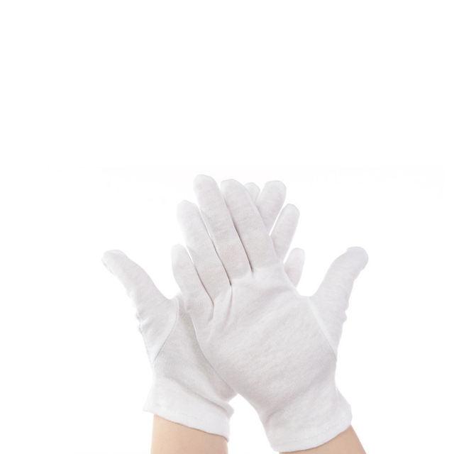 Reusable Cotton Working Gloves Set, 12 Pcs