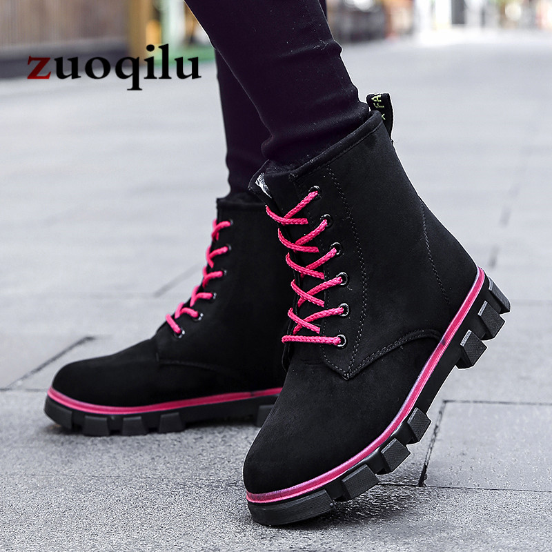 Women Winter Boots 2018 Warm Ankle Boots for Women Martin boots Shoes Women Winter Snow Boots fashion women winter snow boots warm suede platform round toe ankle boots for women martin boots shoes