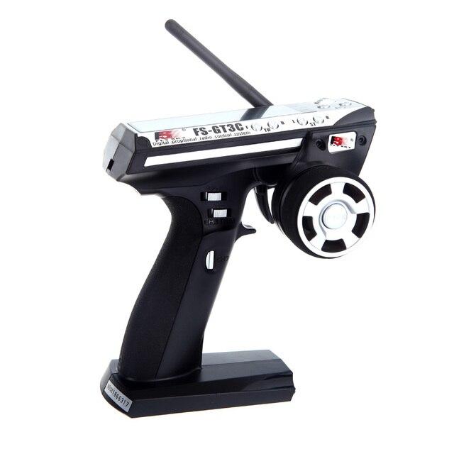 Fs de flysky fs-gt3c gt3c 2.4g 3ch rc pistola transmisor y receptor W/TX batería + Cable USB Up FS-GT3B Rápido gratis