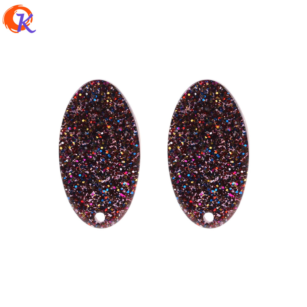 Cordial Design 50Pcs 15*28mm Earring Jewelry Accessories/Sequins In Beads/Beads For diy Earrings/Hand Made/Bead Findings