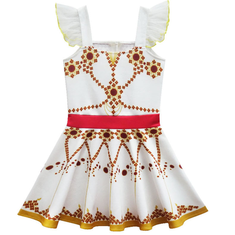 2021 New Movie Ballerina Felicie Cosplay Costume for Girls Party Clothes Halloween Costume for Kids dancing christmas dress girl 2