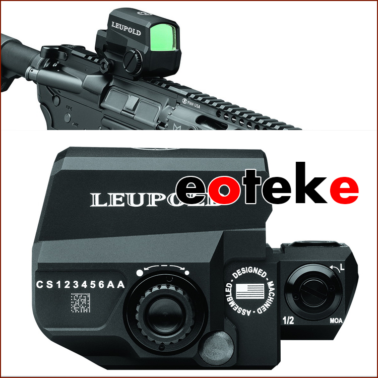 LCO Hunting Scopes Tactical Red Dot Front Sight Riflescope Green Dot for 20mm Rail Mount Free