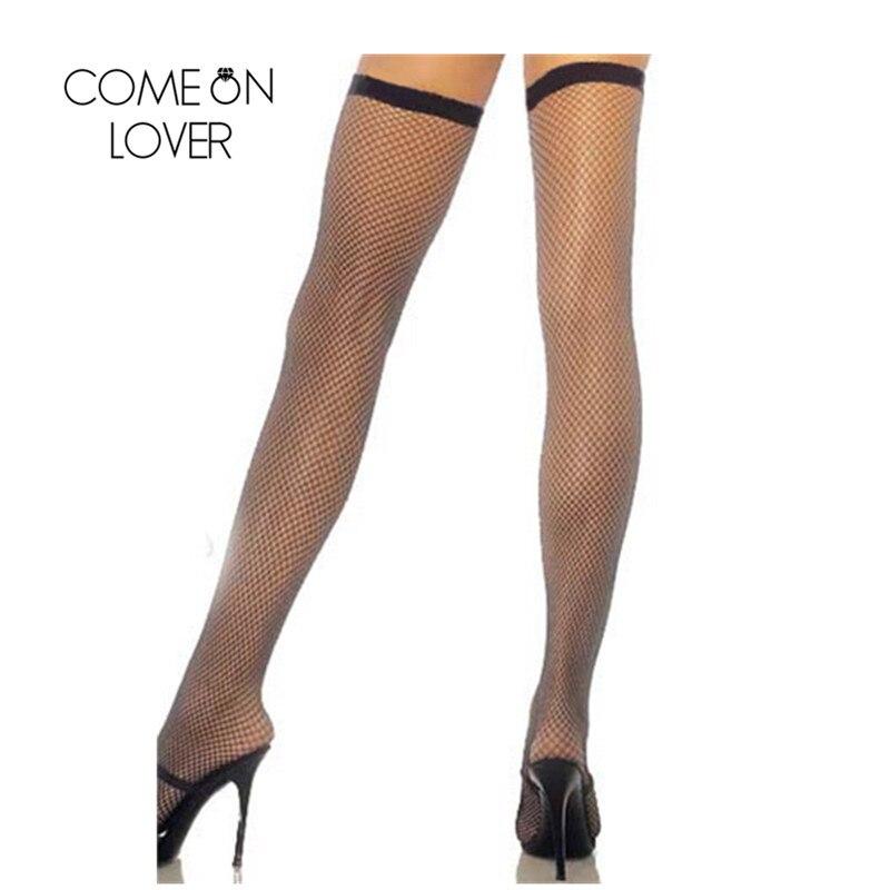 HD8081 Comeonlover, сексуальные чулки, супер предложение, женские чулки,, сетка, просвечивают ноги, одежда, высокие сетчатые чулки, Чулки