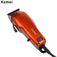 Kemei Classic Design Plug Use Electric Power Adjustable Hair Trimmer Hair Clipper Haircut Machine RCS193OQ 48W