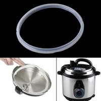 22cm Silicone Rubber Gasket Sealing Ring For Electric Pressure Cooker Parts 5-6L Beauty Tools