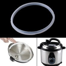 22cm Silicone Rubber Gasket Sealing Ring For Electric Pressure Cooker Parts 5-6L