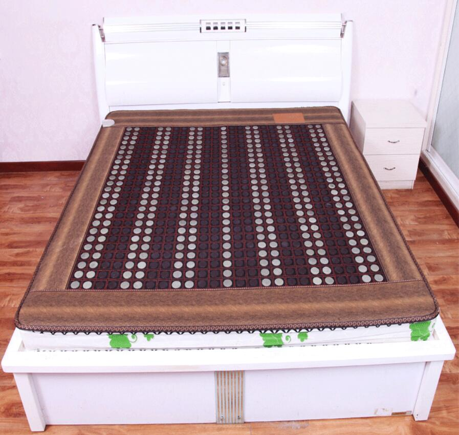 3 styles 5 sizes for your choice High quality Double temperature-dual control of the germanite mattress health care physical the jumbo of glass blunt 5 styles