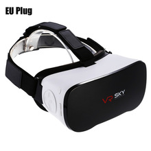2017 VR glasses All-in-one 3D Headset Virtual Reality Glasses 1080P 100 Degrees FOV with Touch Pad TF Card Slot