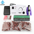 OPHIR Nail Tools 30000RPM Professional Manicure Pedicure Electric Nail Drill Machine File Bits Kits Sanding Band Machine To Nail