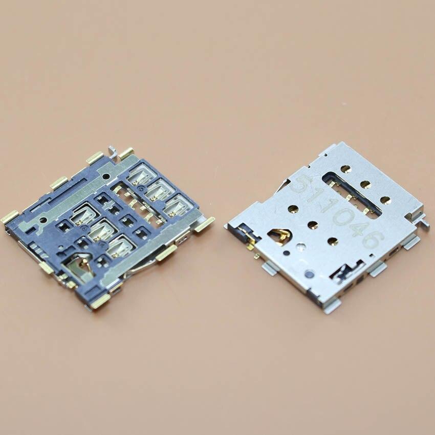 1pcs/lot 100% New SIM card Tray Holder Slot Socket reader Replacement for HTC one2 M8 M8t M8X M8D M8W M8Y M8n E8 high quality