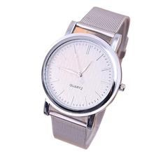 New Classic Womens Quartz Stainless Steel Wrist Watch Lady style Oct 11