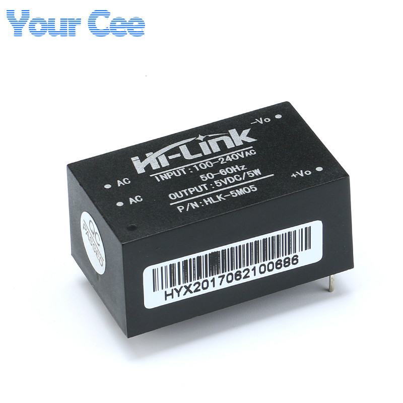 5pcs Original HLK-5M05 AC-DC 220V to 5V 5W <font><b>Isolated</b></font> <font><b>Power</b></font> Supply <font><b>Module</b></font> Intelligent Household Switch Step Down Buck 100V-240V image