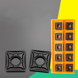 YZ66 10pcs CNC carbide Inserts SNMG190616-OPR OC2125 For Steel processing