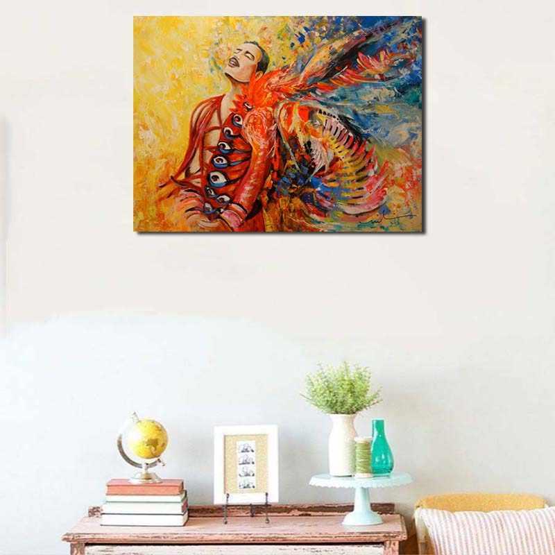 מלכת להקת Freddies Mercuries זה קשה חיים HD טפט אמנות בד פוסטר שמן ציור קיר תמונה הדפסת בית שינה דקור