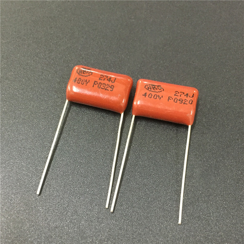 10pcs CBB Capacitor 274 400V 274J 0.27uF 270nF P15 CL21 Metallized Polypropylene Film Capacitor