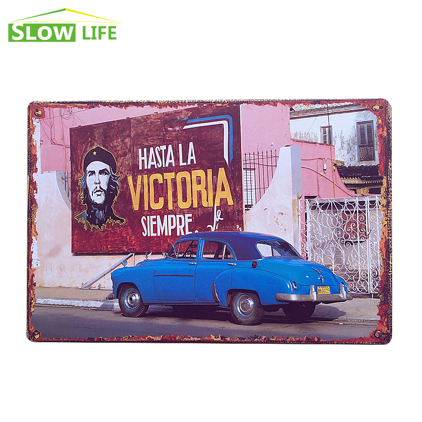 Hot Sale Car Tin Sign 8x12 Metal Sign Bar/Pub/Cafe Wall Decor Metal Plaque Vintage Home Decor Metal Painting Metal Craft