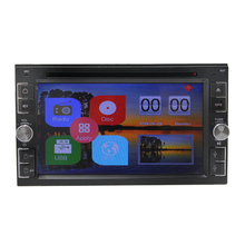 Dual core Wince System Universal Car DVD Player with GPS, Bluetooth and SD/USB multimedia palyback  steering wheel control BT