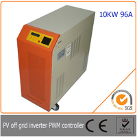 10KW 96V off grid solar charge controller inverter Intelligent RS232 interface, the humanized digital communication