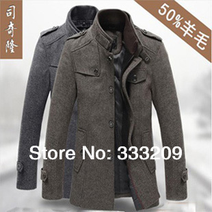 Fashion Wool & Blends Men Suits Dress Winter Coats & Jackets ...