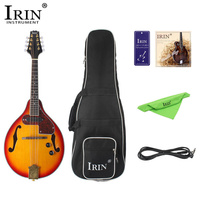 IRIN 8 String Electric Mandolin 7Pcs/Set A Style Rosewood Fingerboard Adjustable String Instrument with Cable Strings Picks Bag