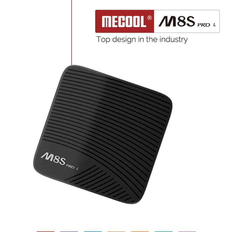 Mecool M8S pro L ТВ Amlogic S912 Octa core Android 7,1 tv box 3g 32 ГБ DDR3 2,4/5 gwifi 4 K HD BT4.0 Поддержка ip ТВ подписки