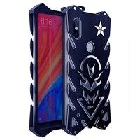 Luxury Aluminum Metal Case For Xiaomi Mi Mix 2S Shockproof Anti Knock Shock Rugged Phone Back