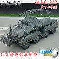 1: 72 SD. KFZ.232 8 rueda blindado modelo de vehículo de mando Veyron terminado 60585
