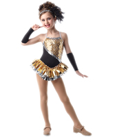 2018 hot Sale Ballroom Dress Dance Costumes For Kids Child Gymnastics Leotard Dress Costume Female Girls Latin Dance Clothe rave