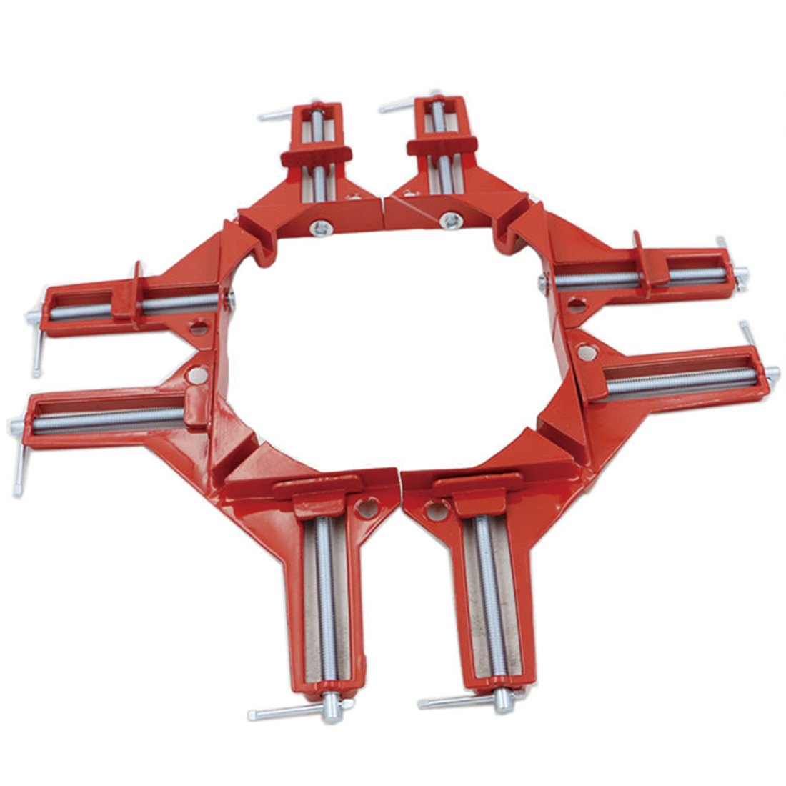 4pcs Style 90 Degrees Angle Clamp Right Angle Woodworking Frame Clamp DIY Glass